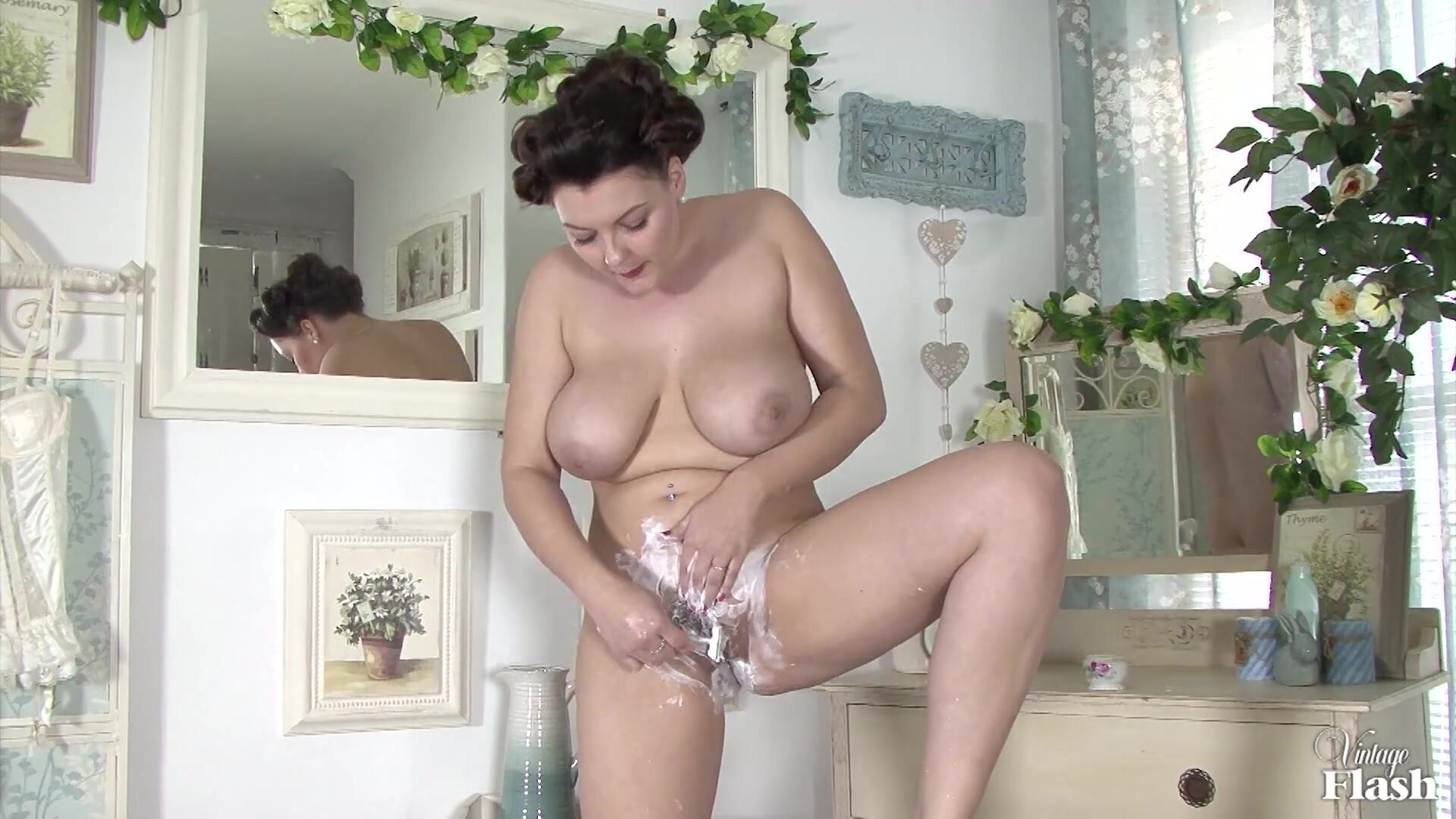 Vintage Lady With Big Boobs