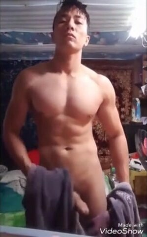 very cute asian stud show on cam (3'13'') 6
